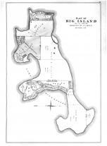 Big Island Plat, Lake Minnetonka, Hennepin and Ramsey Counties 1898